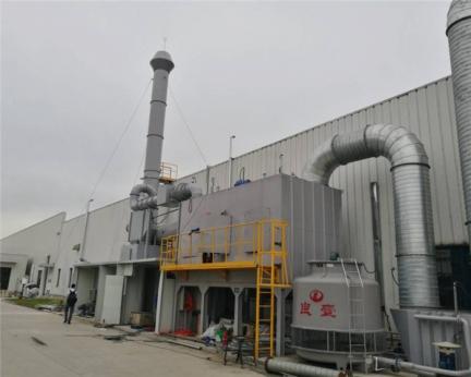 RCO催化燃烧环保设备系统