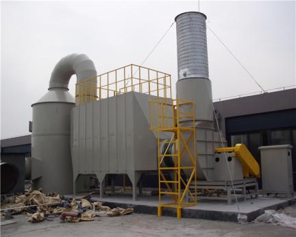 有机废气活性碳吸附塔