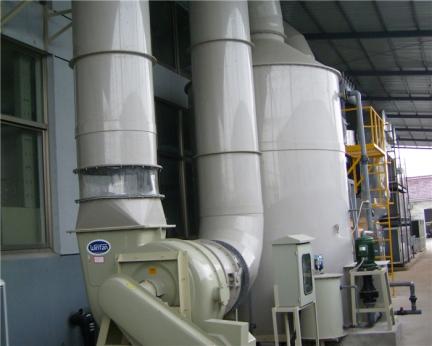 直立逆流式酸碱废气洗涤塔